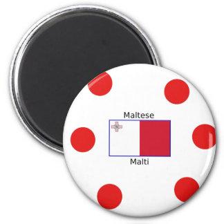 Aimant Langue (de Malti) et conception maltaises de