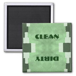 Aimant Lave-vaisselle propre ou sale