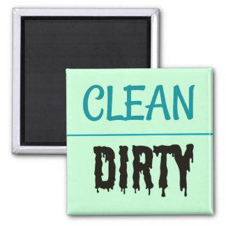 Aimant Lave-vaisselle propre/sale