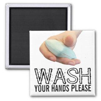 Aimant Lavez-vous les mains satisfont