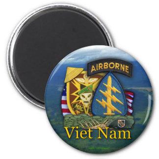 Aimant le 5ème sog Vietnam de macv de bérets verts