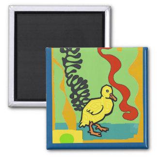 Aimant Le canard, résumé MIGNON, ajoutent le texte