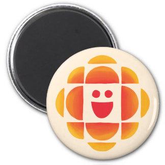Aimant Le CBC badine le logo
