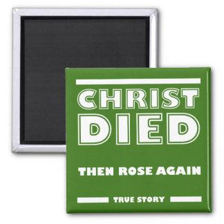 Aimant Le Christ est mort encore histoire vraie