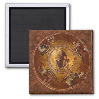 Aimant Le Christ l'icône de chrétien de Pantakrator