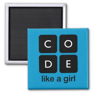 Aimant Le code aiment une fille