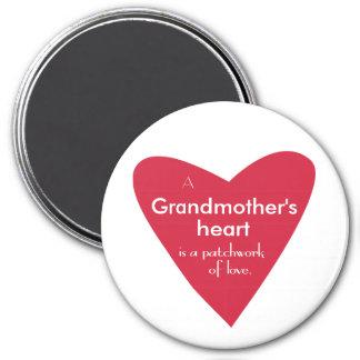 Aimant Le coeur d'une grand-mère