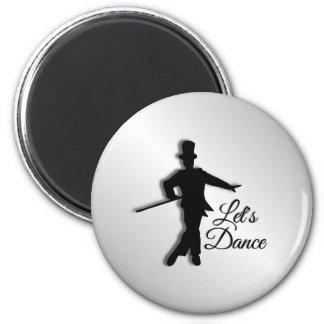 Aimant Le danseur de claquettes nous a laissés danser