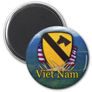Aimant le ęr cav d'air du Vietnam de cavalerie contrôle