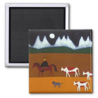 Aimant Le gaucho et ses bétail 2006