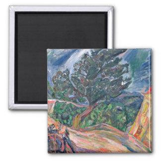 Aimant Le grand arbre bleu, c.1940-42