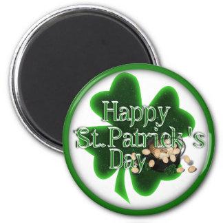 Aimant Le jour de St Patrick heureux !