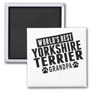 Aimant Le meilleur grand-papa de Yorkshire Terrier du