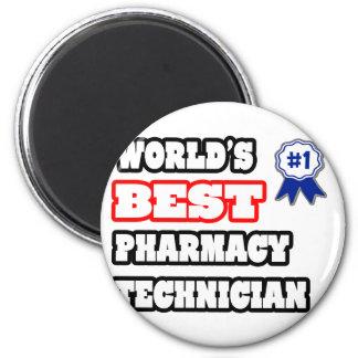 Aimant Le meilleur technicien de la pharmacie du monde