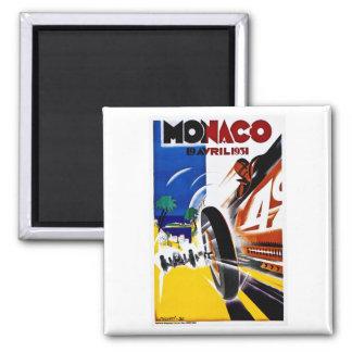 Aimant Le Monaco 1931 Grand prix - affiche vintage de