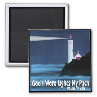 Aimant Le mot de Dieu allume mon chemin - 119:105 de