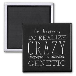 Aimant Le noir orphelin   fou est génétique