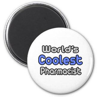Aimant Le pharmacien le plus frais du monde