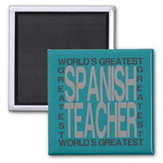 Aimant Le plus grand professeur espagnol des mondes