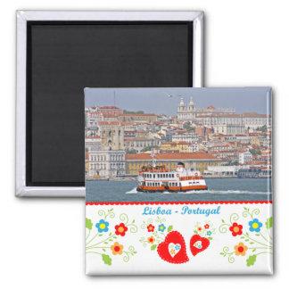 Aimant Le Portugal en photos - la ville de Lisbonne