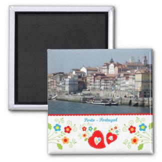 Aimant Le Portugal en photos - Porto par la rivière