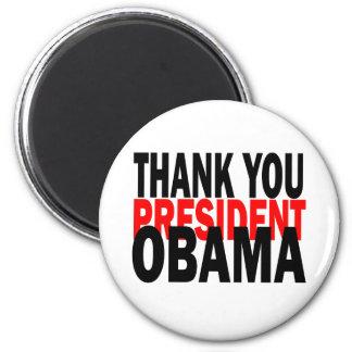 Aimant Le Président Obama de Merci
