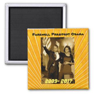 Aimant Le Président Obama et première Madame Michelle