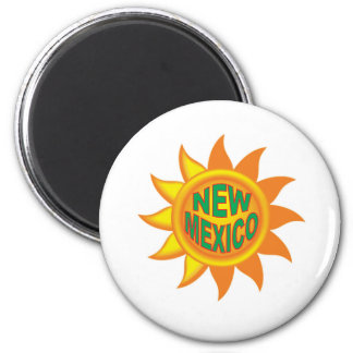 Aimant Le soleil du Nouveau Mexique