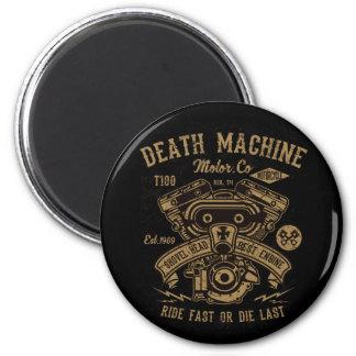 Aimant Le tour de moteur de Harley de machine de la mort