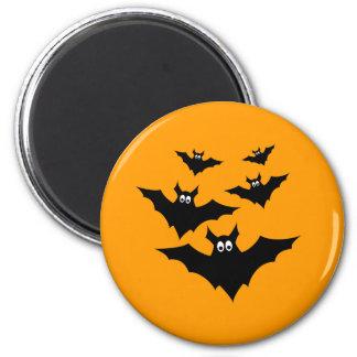Aimant Le vol noir mignon frais manie la batte Halloween