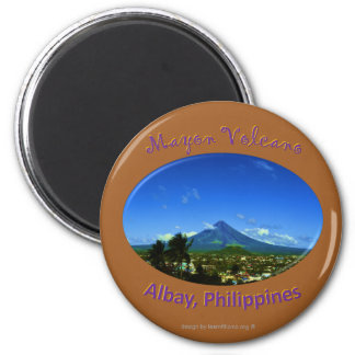 Aimant Le volcan Mayon, Albay Philippines