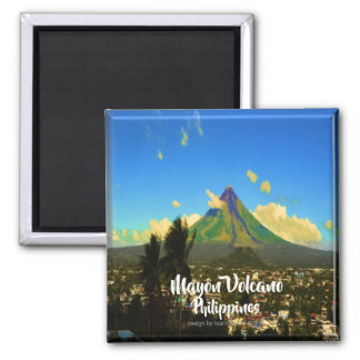 """Aimant Le volcan Mayon, Albay Philippines """"3d """""""