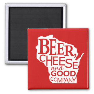 Aimant Le Wisconsin Beer Cheese & Good Company dans le