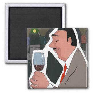 Aimant L'échantillon de vin, ajoutent le texte,