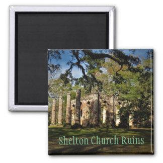 Aimant l'église de shelton ruine l'aimant