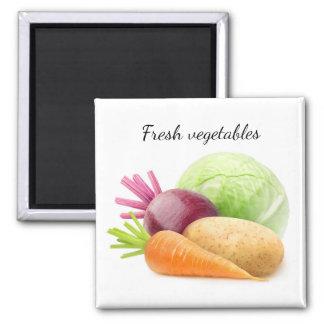 Aimant Légumes frais