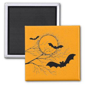Aimant Les chauve-souris d'Halloween -