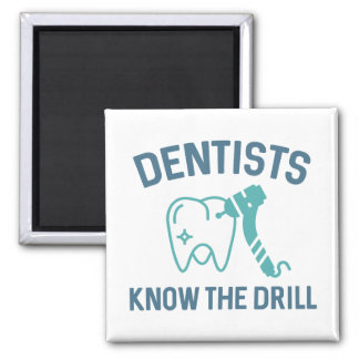 Aimant Les dentistes connaissent le foret