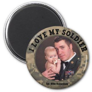 Aimant Les militaires faits sur commande I aiment mon