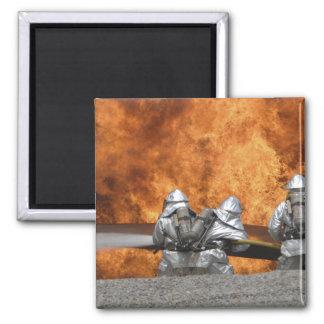 Aimant Les pompiers neutralisent un feu