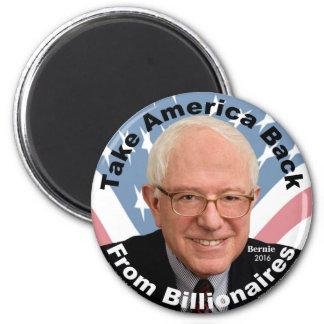 Aimant Les ponceuses de Bernie rapportent l'aimant de