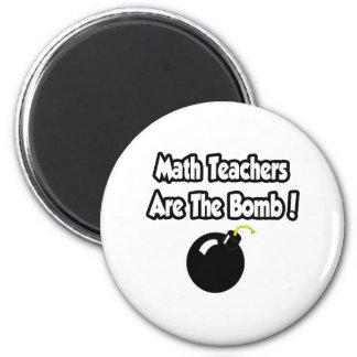 Aimant Les professeurs de maths sont la bombe !