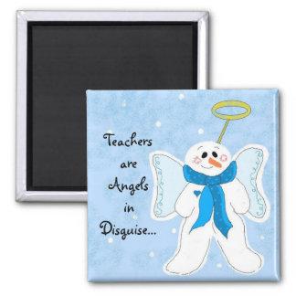 Aimant Les professeurs sont des anges dans le déguisement