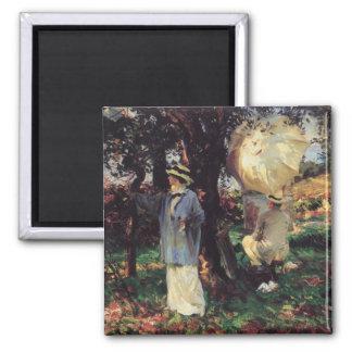 Aimant Les Sketchers par Sargent, art victorien vintage