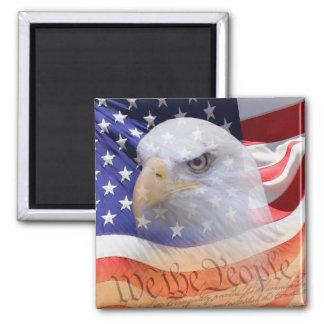 Aimant Les symboles de l'aimant de liberté
