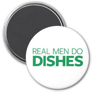 Aimant Les vrais hommes font des plats