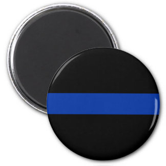 Aimant ligne bleue mince loi de police