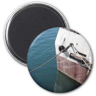 Aimant Ligne de flottaison marquée sur le bateau avec la