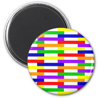 Aimant Ligne multicolore conception