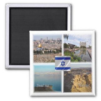 Aimant L'IL * L'Israël - Jérusalem Tel Aviv